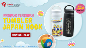 Produk Terbaru! Custom Tumbler Japan Hook Twindigital.id